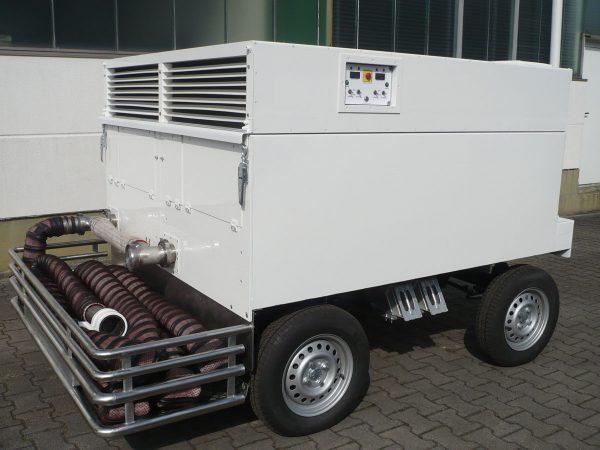 Air Starter Unit Garett Turbin white
