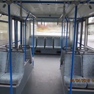 Cobus 3000 Apron Bus 2005 interior