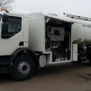 Aircraft Refueling Truck