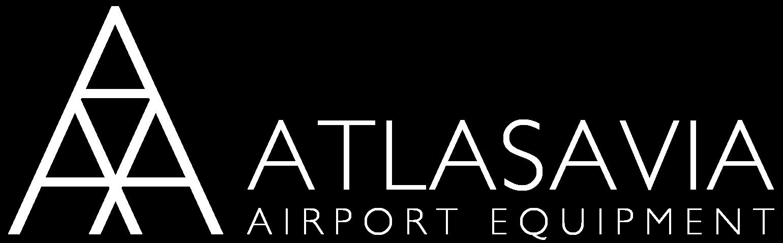 LOGO ATLASAVIA Airport Equipment white