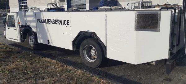Vestergaard TSU-F Lavatory Truck
