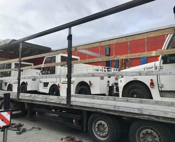 5 Mulag tractors go into operation
