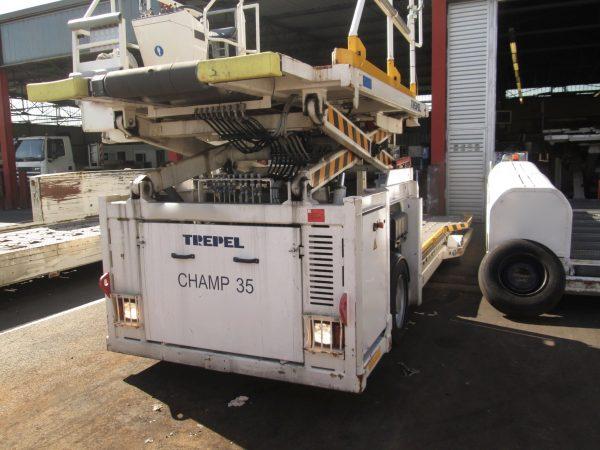 Cargo Loader Trepel Champ 35 2015